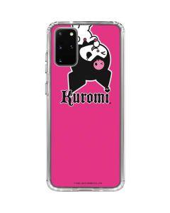 Kuromi Bold Print Galaxy S20 Plus Clear Case