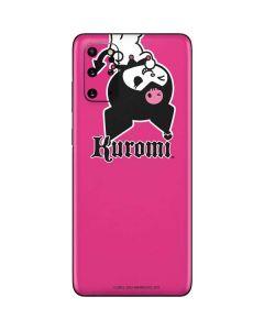 Kuromi Bold Print Galaxy S20 Plus Skin