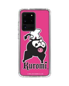 Kuromi Bold Print Galaxy S20 Ultra 5G Clear Case