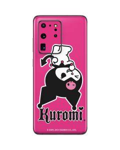 Kuromi Bold Print Galaxy S20 Ultra 5G Skin