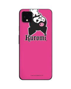 Kuromi Bold Print Google Pixel 4 XL Skin