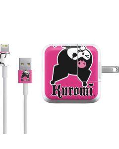 Kuromi Bold Print iPad Charger (10W USB) Skin
