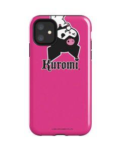 Kuromi Bold Print iPhone 11 Impact Case