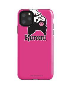 Kuromi Bold Print iPhone 11 Pro Max Impact Case
