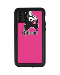 Kuromi Bold Print iPhone 11 Pro Max Waterproof Case