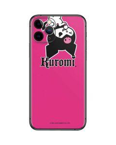 Kuromi Bold Print iPhone 11 Pro Skin