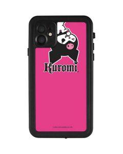 Kuromi Bold Print iPhone 11 Waterproof Case