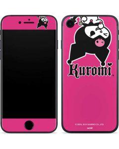 Kuromi Bold Print iPhone SE Skin