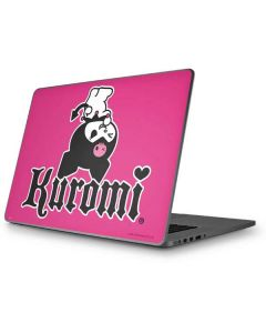 Kuromi Bold Print Apple MacBook Pro 17-inch Skin