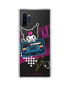 Kuromi Cheeky but Charming Galaxy Note 10 Plus Clear Case