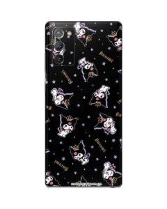 Kuromi Crown Galaxy Note20 5G Skin