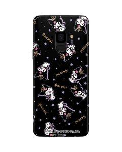 Kuromi Crown Galaxy S9 Skin