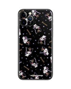 Kuromi Crown iPhone 11 Pro Skin