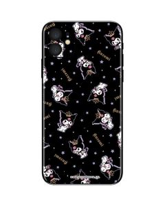 Kuromi Crown iPhone 11 Skin