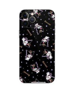 Kuromi Crown iPhone 12 Pro Skin