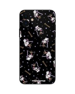 Kuromi Crown iPhone 12 Skin