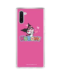Kuromi Heart Eyes Galaxy Note 10 Clear Case
