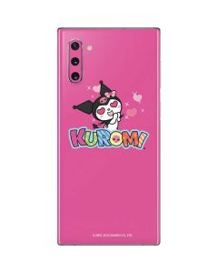 Kuromi Heart Eyes Galaxy Note 10 Skin