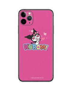 Kuromi Heart Eyes iPhone 11 Pro Max Skin