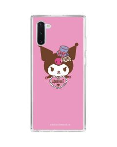 Kuromi Mischievous Galaxy Note 10 Clear Case