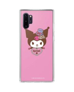 Kuromi Mischievous Galaxy Note 10 Plus Clear Case