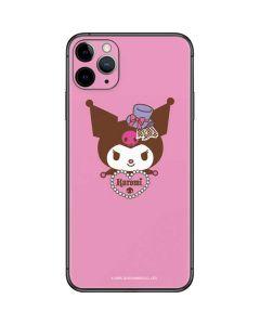 Kuromi Mischievous iPhone 11 Pro Max Skin