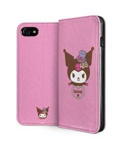 Kuromi Mischievous iPhone SE Folio Case