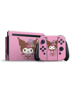 Kuromi Mischievous Nintendo Switch Bundle Skin