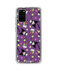 Kuromi Pattern Galaxy S20 Plus Clear Case