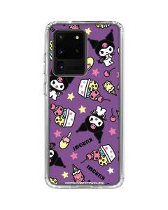 Kuromi Pattern Galaxy S20 Ultra 5G Clear Case