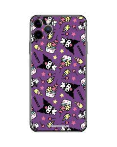 Kuromi Pattern iPhone 11 Pro Max Skin