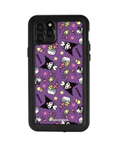 Kuromi Pattern iPhone 11 Pro Max Waterproof Case