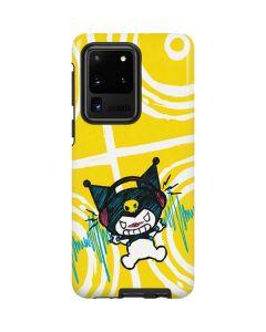Kuromi Rocker Girl Yellow Stereos Galaxy S20 Ultra 5G Pro Case