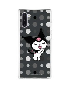Kuromi Singing Galaxy Note 10 Clear Case