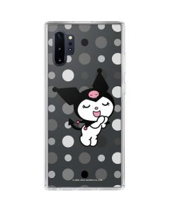 Kuromi Singing Galaxy Note 10 Plus Clear Case