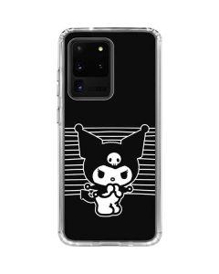 Kuromi Stripes Galaxy S20 Ultra 5G Clear Case