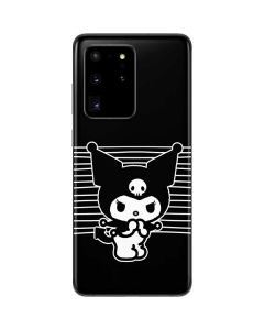 Kuromi Stripes Galaxy S20 Ultra 5G Skin
