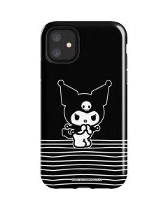 Kuromi Stripes iPhone 11 Impact Case