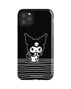 Kuromi Stripes iPhone 11 Pro Max Impact Case