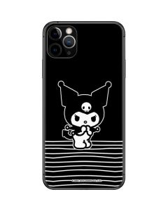 Kuromi Stripes iPhone 11 Pro Max Skin