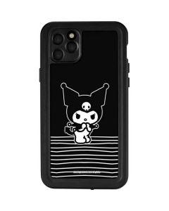 Kuromi Stripes iPhone 11 Pro Max Waterproof Case