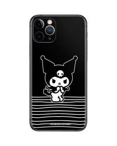 Kuromi Stripes iPhone 11 Pro Skin