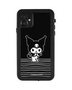 Kuromi Stripes iPhone 11 Waterproof Case