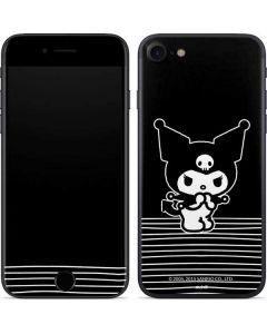 Kuromi Stripes iPhone SE Skin