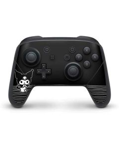 Kuromi Stripes Nintendo Switch Pro Controller Skin