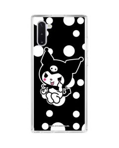 Kuromi Troublemaker Galaxy Note 10 Clear Case