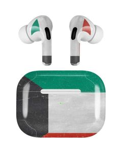 Kuwait Flag Distressed Apple AirPods Pro Skin