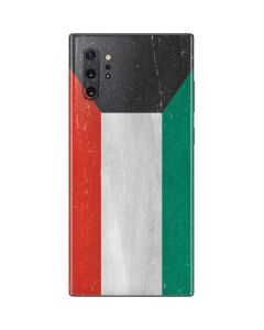 Kuwait Flag Distressed Galaxy Note 10 Plus Skin
