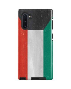 Kuwait Flag Distressed Galaxy Note 10 Pro Case