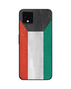 Kuwait Flag Distressed Google Pixel 4 Skin